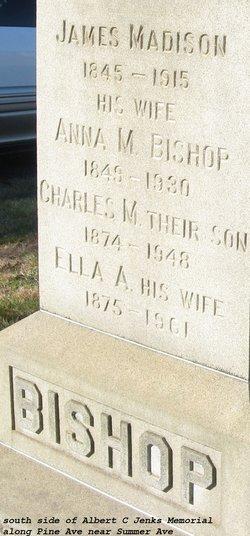 Ella Augusta <I>Prentice</I> Bishop