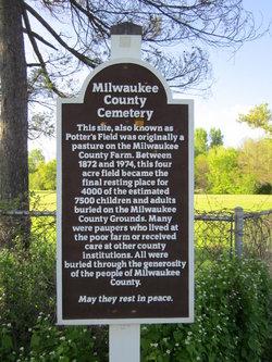 Milwaukee County Almshouse and Poor Farm Cemetery