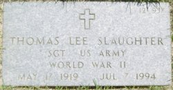 Thomas Lee Slaughter