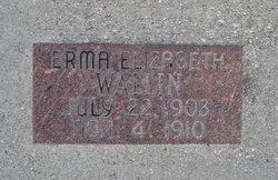 Erma Elizabeth Wallin