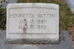 Henrietta Batten