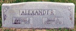 Nolie A. Alexander