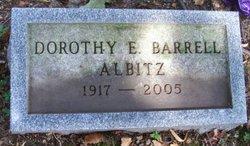 Dorothy E. <I>Schaeffer</I> Albitz