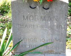 """Charles Augustine """"Duke"""" Morman, Sr"""
