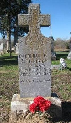 Carolina E. <I>Meuth</I> Steinbach