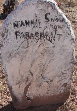 Nannie Parashont Snow