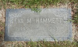 Eva May <I>Nininger</I> Hammett