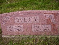 Allie <I>Miller</I> Everly