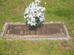 Millie Eunice <I>Greene</I> Rhodes
