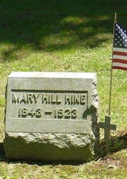 Mary <I>Hill</I> Hine