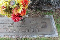 Annie Ruth <I>Lee</I> Henington