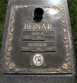"""Mabel D """"Mae"""" <I>Skidmore</I> Bonar"""