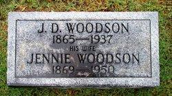 Amelia Jennie <I>Vance</I> Woodson