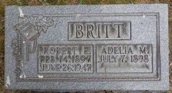 Robert E Britt