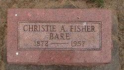 Christina 'Christie' A <I>Fisher</I> Bare