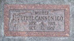 Ethel <I>Cannon</I> Igo