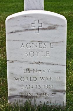 Agnes E Boyle