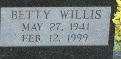 Betty Christine <I>Willis</I> Roach