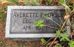 Averette Flavis Powell