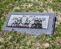 "Jack Rudolph ""Big Jack"" Adair"