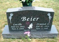 Lucille Mary <I>Braun</I> Beier