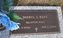 Sheryl Lane <I>Stevens</I> Rust
