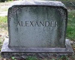 Bertha F. <I>Comstock</I> Alexander