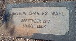 Arthur Charles Wahl