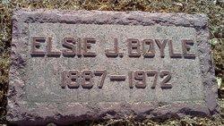 Elsie J Boyle