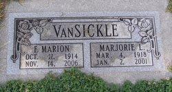Marjorie Lucille <I>Holaday</I> VanSickle
