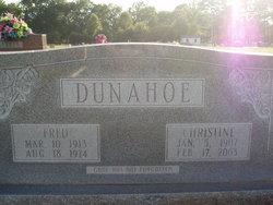 Christine <I>Ridge</I> Dunahoe