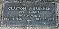 Pvt Clayton J. Brukner