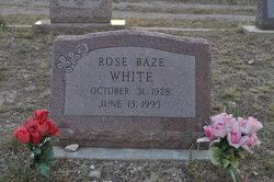Rose Nell <I>Baze</I> White