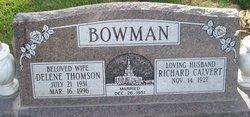 Delene <I>Thomson</I> Bowman