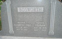 """Elizabeth Ingle """"Beth"""" <I>Cole</I> Bosworth"""