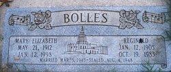 Mary Elizabeth <I>Satterberg</I> Bolles