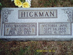 Victoria Jane <I>Minton</I> Hickman