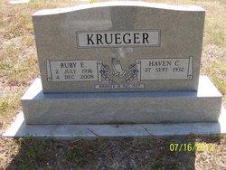 Ruby N. <I>Newman</I> Krueger
