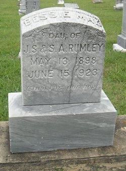 Bessie May Rumley