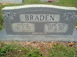 Maude Irene <I>Williams</I> Braden