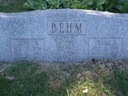 Frank Delbert Behm