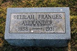 Delilah Frances Alexander