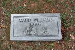 Maud <I>Williams</I> Coop