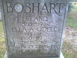 Ella A <I>O'Dell</I> Boshart
