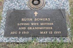 "Kathleen Ruth ""Ruth"" <I>Smith</I> Bowers"