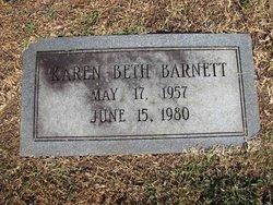 """Karen Elizabeth """"Beth"""" <I>Little</I> Barnett"""