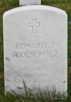 Edward J Federowicz