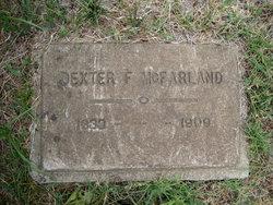 Dexter F McFarland