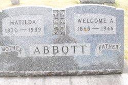 Welcome Alfred Abbott