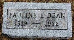 Pauline I <I>Kemp</I> Dean